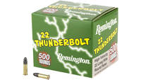 Remington Rimfire Ammo Thunderbolt .22 Long Rifle